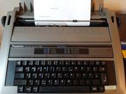 Schreibmaschine Panasonic elektr