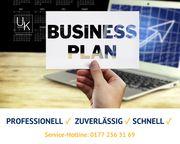 Businessplan vom Profi schnell zuverlässig