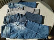 4 Mädchen-Jeans Skinny