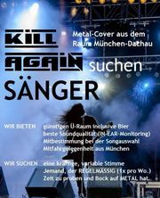 Metal Coverband KILL AGAIN sucht