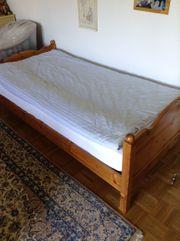 Kiefern Bett 1 x 2