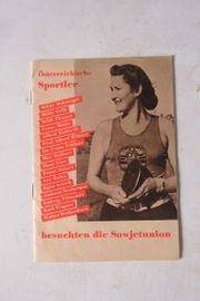 Sportlicher Zeitzeuge 1954