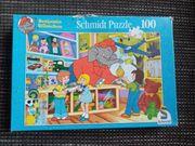 Benjamin Blümchen Puzzle 100 Teile