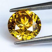 Fancy- Vivid- Orangy- Yellow Brillant