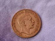 Goldmünze 20 Reichsmark Wilhelm II