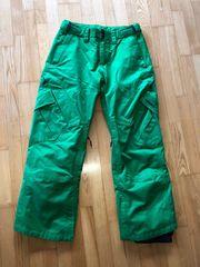 Zimtstern Snowboardhose grün