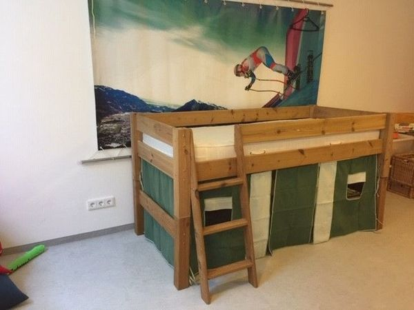 Kinderbett Dolphin Moby Natur Inkl