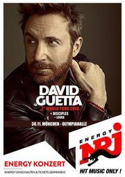 2 Karten-David Guetta-39 11 19-Olympiahalle