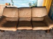 Leder Couch zu verschenken Muss