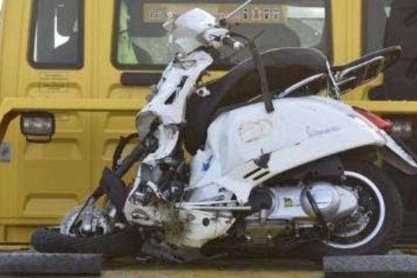 Suche Vespa Piaggio GTS Unfall