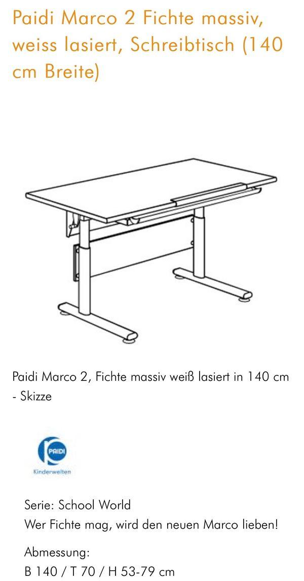 Paidi Marco 2 Schreibtisch in Heidelberg - Kinder-/Jugendzimmer ...