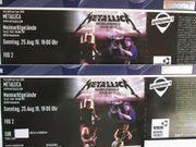 2 Karten für Metallica in