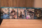 Wii U ACTION-SPIELESAMMLUNG 5 Spiele