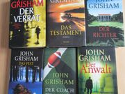 22 Bücher von John Grisham
