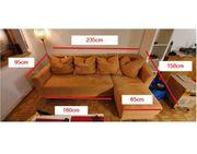 Couch zum ausziehen mit Schlaffunktion