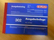 Formularbuch Ausgabebeleg Herlitz 885608 neu