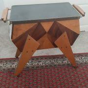 Nähkasten Antik Handgefertigt Holz 50er