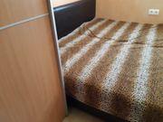 Bett doppelbett 180x200 braun leder