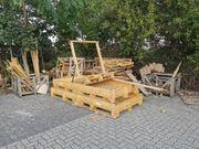 Holz Brennholz Einwegpaletten Holzkisten zu