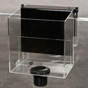 Überlaufkammer für Aquarien ohne Ablaufbohrung