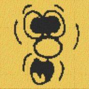 Vorlage für Ministeck Smiley18 40x40cm