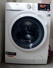 Waschen Trocknen in Einem AEG