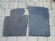 Gummi-Fußmatten VW Passat schwarz vorne