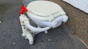 Bootstoilette - Toilette mit Handpumpe - Marinetoilette