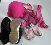 Wäsche Set inkl Schuhe