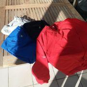 4 Rundhals-Polos Sweater von TRIGEMA