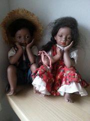 Puppe Puppen Pärchen Puppen Paar
