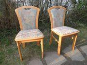 2 Stühle aus Erlenholz
