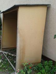Gartenhaus Unterstand Brennholz