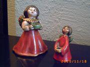 2 Kerzenhalter Singende Engel Bozener
