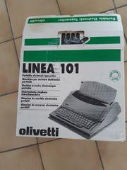 Olivetti Linea 101 Elektrische Schreibmaschine