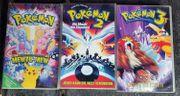 VHS Pokemon Filme 1 - 3
