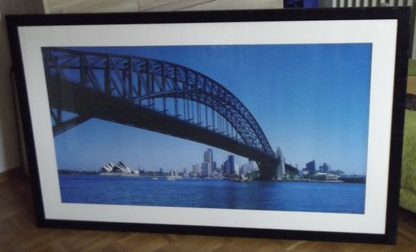 Bilderrahmen mit Skyline von Sydney
