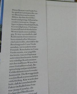 Costa Verde Frank Yerby Buch-Nr: Kleinanzeigen aus Lingenfeld - Rubrik Comics, Science fiction, Fantasy, Abenteuer, Krimis, Western