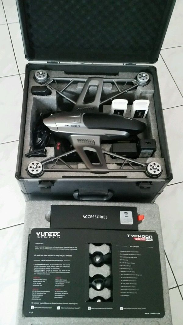 Yuneec Typhoon Q500 Black Edition