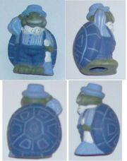 toll Deko-Figur Schildkröte Farbe blau