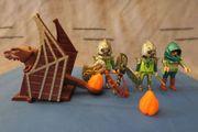 Playmobil Drachenkatapult Nr 4840 gebraucht