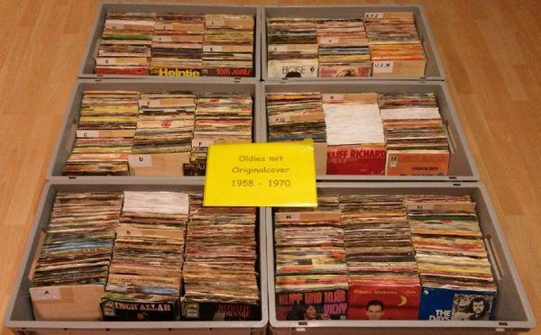 Oldies-Schallplatten Single 7 ca 6