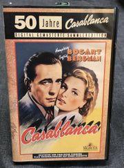 VHS-Kassette 50 Jahre Casablanca deutsch