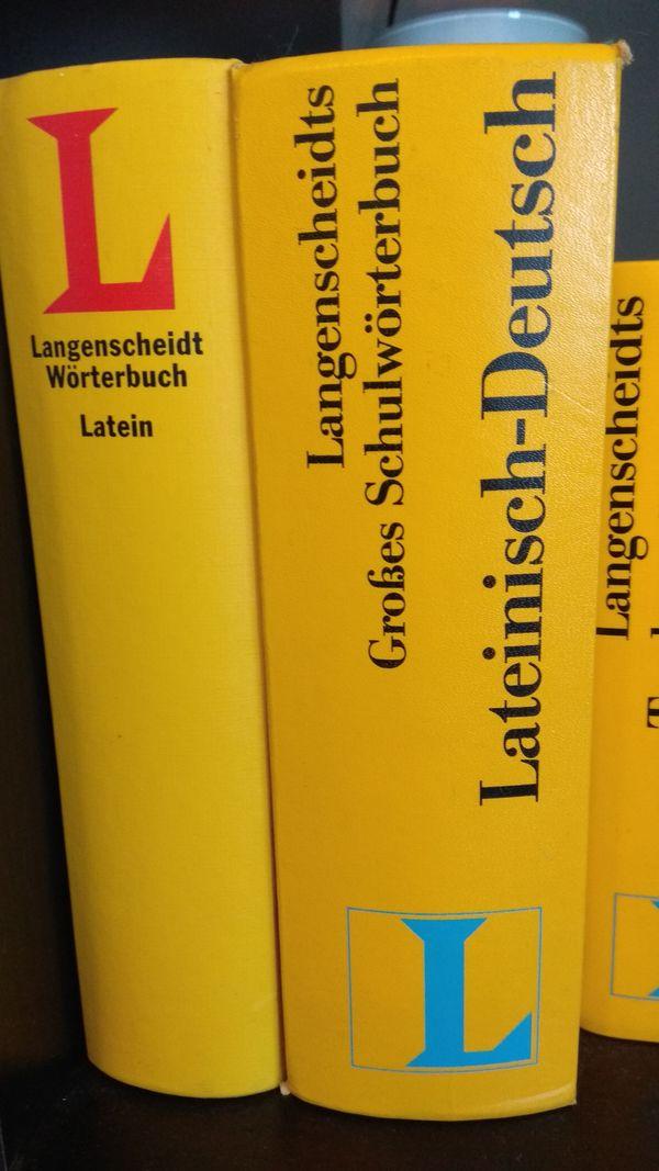 Langenscheidts großes Schulwörterbuch Lateinisch-Deutsch