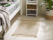 Teppich beige 50 x 80