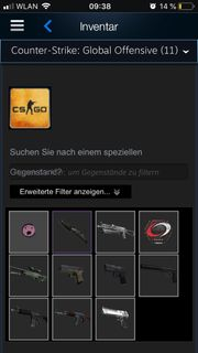 Steam Account with csgo knife
