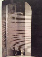Duschwand Glas nur kurz installiert