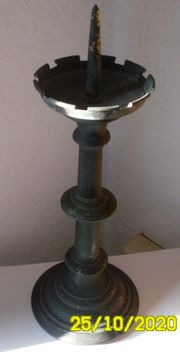 Antiker Kerzenständer Messing 1flammig Kerzenleuchter