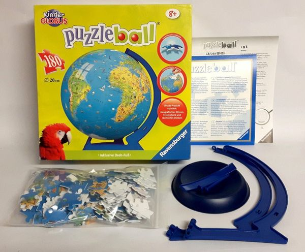 Globus Puzzleball 180 Teile von