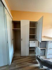 Kinderzimmermöbel Schrank und Kommode